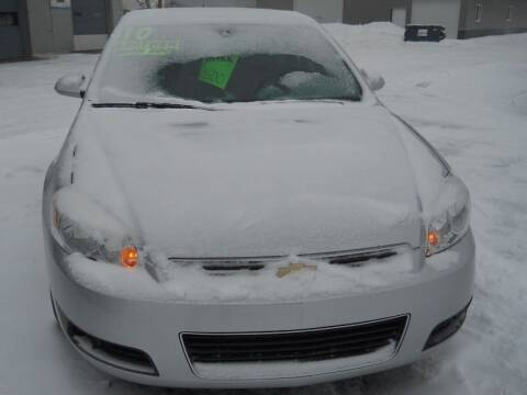 2010 Chevrolet Impala for sale at Shaw Motor Sales in Kalkaska MI