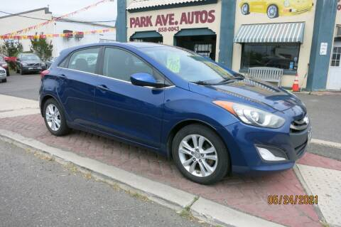 2013 Hyundai Elantra GT for sale at PARK AVENUE AUTOS in Collingswood NJ
