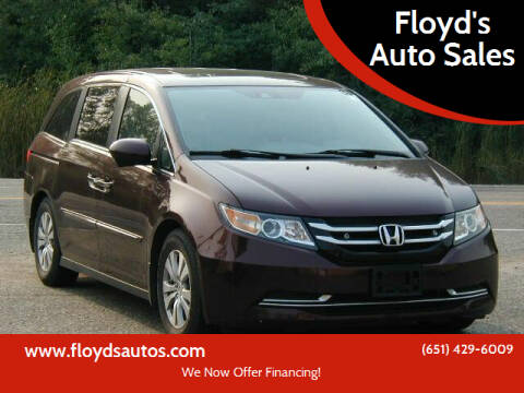 2014 Honda Odyssey for sale at Floyd's Auto Sales in Stillwater MN
