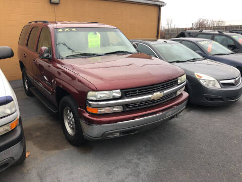 2003 Chevrolet Tahoe for sale at American Auto Group LLC in Saginaw MI