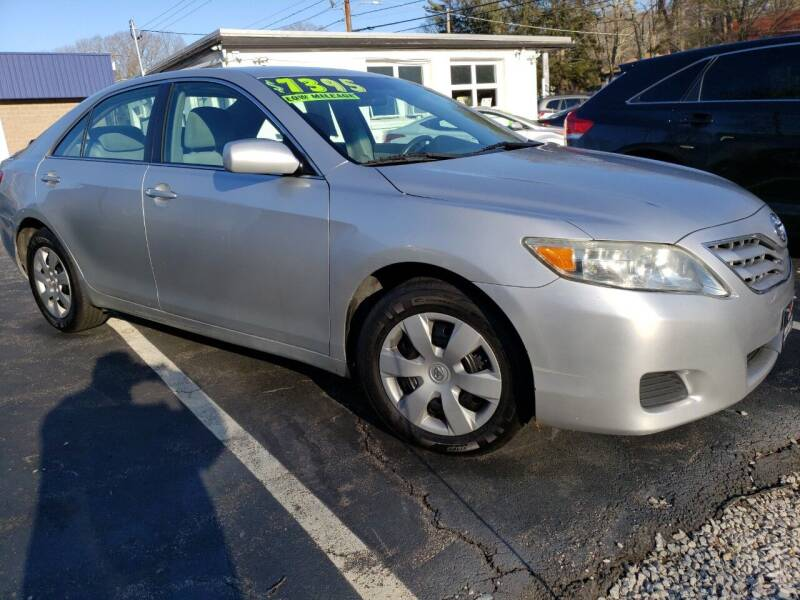 2010 Toyota Camry for sale at Highlands Auto Gallery in Braintree MA