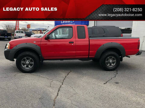 2002 Nissan Frontier for sale at LEGACY AUTO SALES in Boise ID