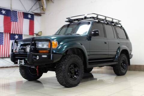 1994 Toyota Land Cruiser for sale at ROADSTERS AUTO in Houston TX