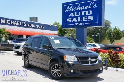 2017 Dodge Grand Caravan for sale at Michael's Auto Sales Corp in Hollywood FL