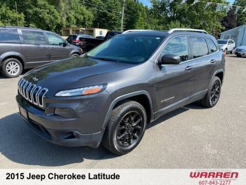 2015 Jeep Cherokee for sale at Warren Auto Sales in Oxford NY
