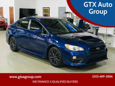 2015 Subaru WRX for sale at GTX Auto Group in West Chester OH