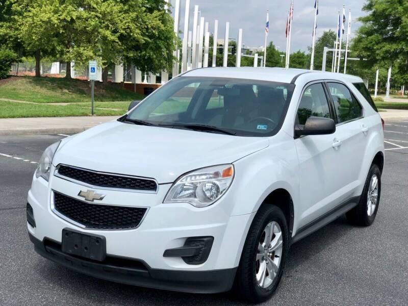 2011 Chevrolet Equinox for sale at Supreme Auto Sales in Chesapeake VA