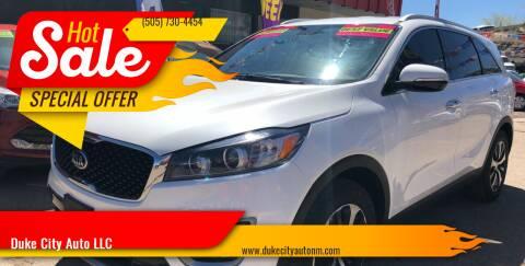2016 Kia Sorento for sale at Duke City Auto LLC in Gallup NM