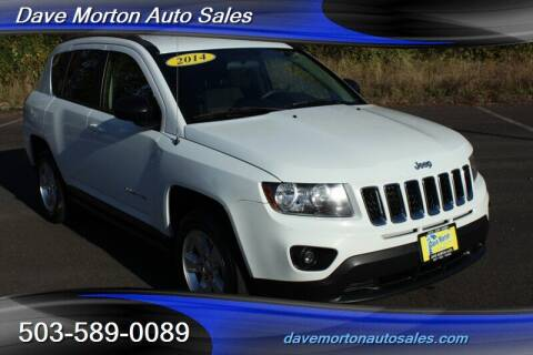 2014 Jeep Compass for sale at Dave Morton Auto Sales in Salem OR