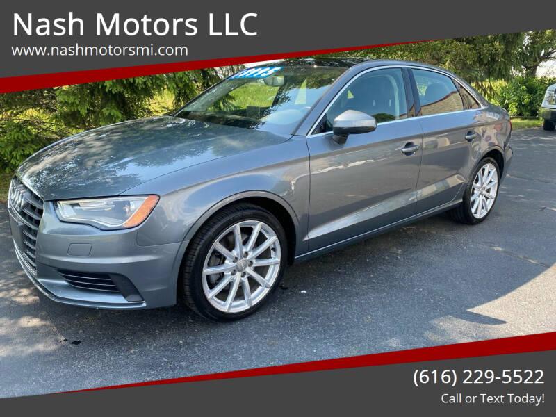 2015 Audi A3 for sale at Nash Motors LLC in Hudsonville MI