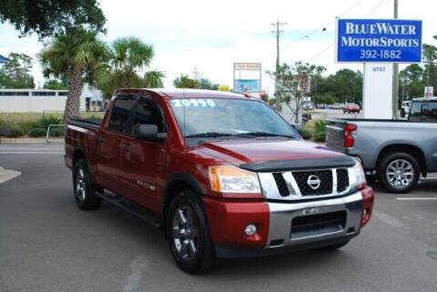 2015 Nissan Titan for sale at BlueWater MotorSports in Wilmington NC
