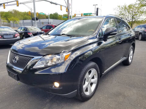 2011 Lexus RX 350 for sale at Cedar Auto Group LLC in Akron OH