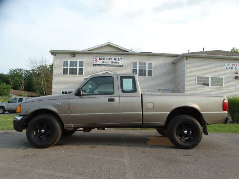 2004 Ford Ranger for sale at SOUTHERN SELECT AUTO SALES in Medina OH