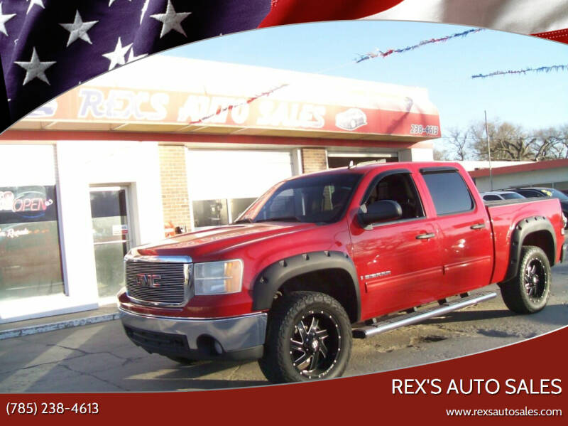 2007 GMC Sierra 1500 for sale at Rex's Auto Sales in Junction City KS