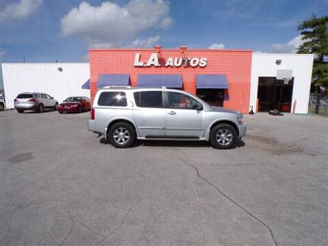 2005 Infiniti QX56 for sale at L A AUTOS in Omaha NE