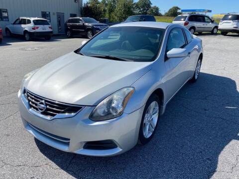 2012 Nissan Altima for sale at Brewster Used Cars in Anderson SC