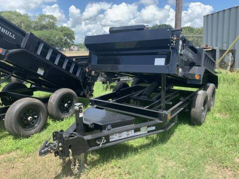 2021 Iron Bull DTB6010 5X10 DUMP 7K for sale at The Trailer Lot in Hallettsville TX
