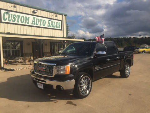 2013 GMC Sierra 1500 for sale at Custom Auto Sales - AUTOS in Longview TX