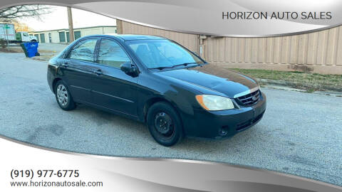 2006 Kia Spectra for sale at Horizon Auto Sales in Raleigh NC