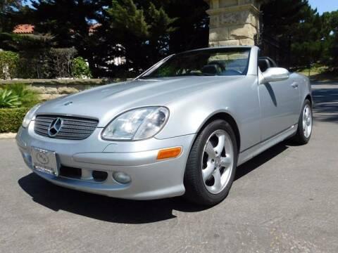 2001 Mercedes-Benz SLK for sale at Milpas Motors in Santa Barbara CA