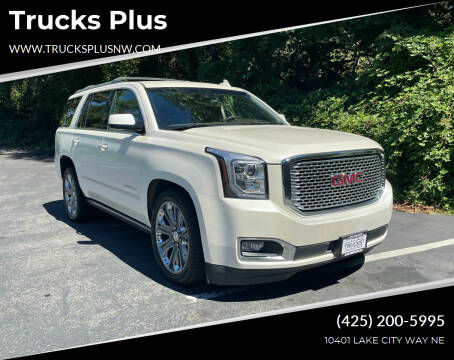 2015 GMC Yukon for sale at Trucks Plus in Seattle WA