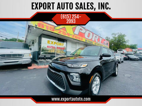 2021 Kia Soul for sale at EXPORT AUTO SALES, INC. in Nashville TN