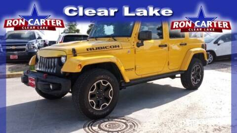 2015 Jeep Wrangler Unlimited for sale at Ron Carter  Clear Lake Used Cars in Houston TX