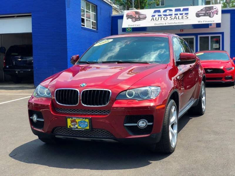 2008 BMW X6 for sale at AGM AUTO SALES in Malden MA