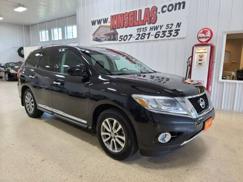 2015 Nissan Pathfinder for sale at Kinsellas Auto Sales in Rochester MN