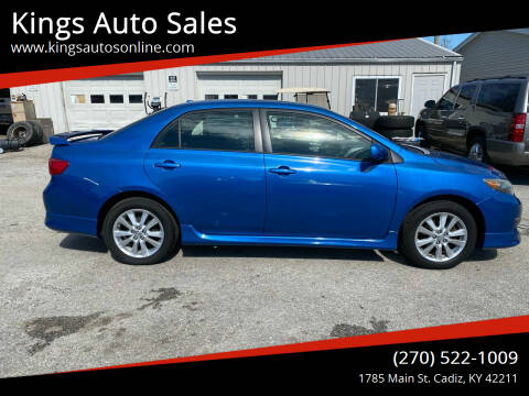 2009 Toyota Corolla for sale at Kings Auto Sales in Cadiz KY