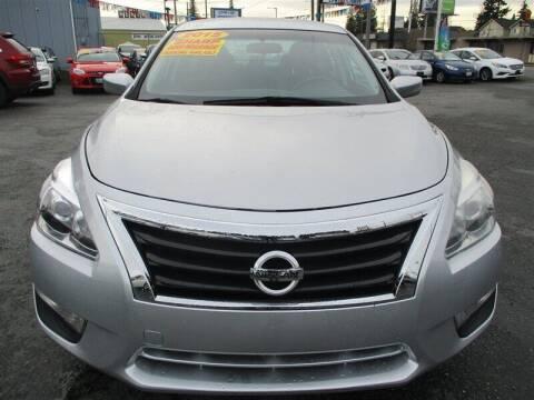 2015 Nissan Altima for sale at GMA Of Everett in Everett WA