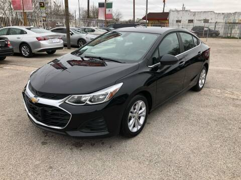 2019 Chevrolet Cruze for sale at Saipan Auto Sales in Houston TX
