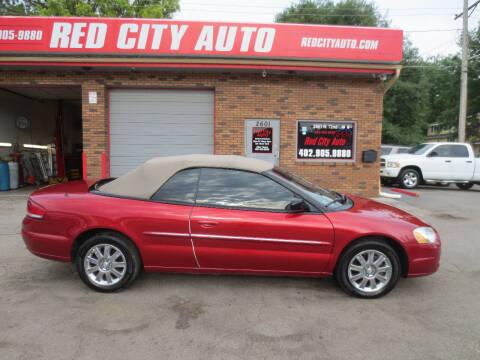 2006 Chrysler Sebring for sale at Red City  Auto in Omaha NE