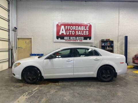 2012 Chevrolet Malibu for sale at Affordable Auto Sales in Humphrey NE