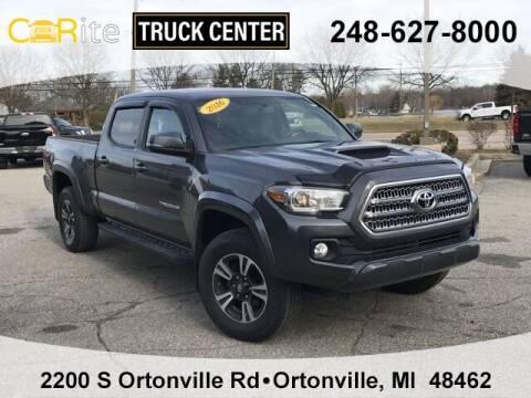 2016 Toyota Tacoma for sale at Carite Truck Center in Ortonville MI
