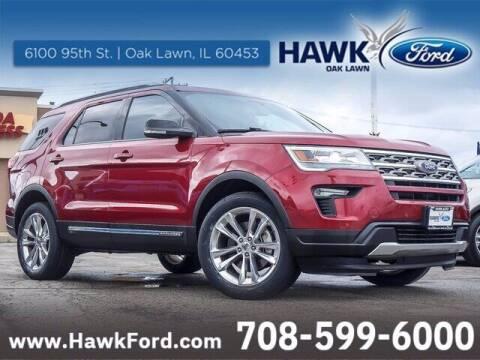 2018 Ford Explorer for sale at Hawk Ford of Oak Lawn in Oak Lawn IL