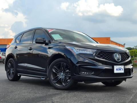 2019 Acura RDX for sale at BuyRight Auto in Greensburg IN