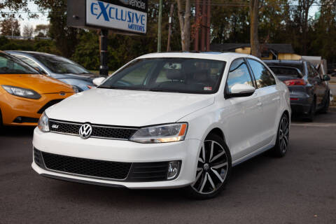 2013 Volkswagen Jetta for sale at EXCLUSIVE MOTORS in Virginia Beach VA