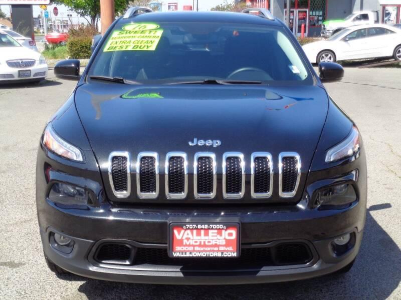 2016 Jeep Cherokee for sale at Vallejo Motors in Vallejo CA