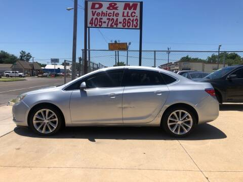 2012 Buick Verano for sale at D & M Vehicle LLC in Oklahoma City OK