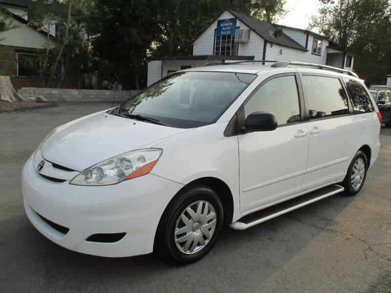 2008 Toyota Sienna for sale at Summit Auto Sales in Reno NV