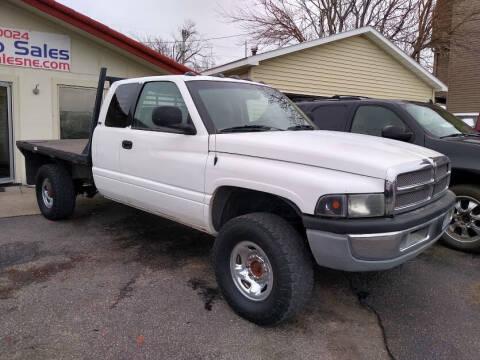 2002 Dodge Ram Pickup 2500 for sale at Gil's Auto Sales in Omaha NE