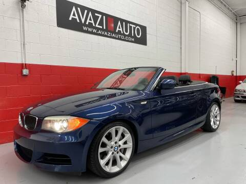 2013 BMW 1 Series for sale at AVAZI AUTO GROUP LLC in Gaithersburg MD