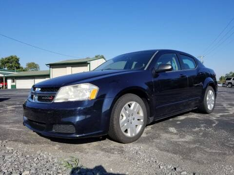 2012 Dodge Avenger for sale at Ridgeway's Auto Sales in West Frankfort IL