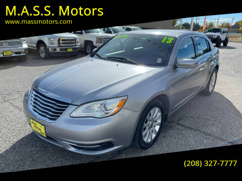 2013 Chrysler 200 for sale at M.A.S.S. Motors in Boise ID