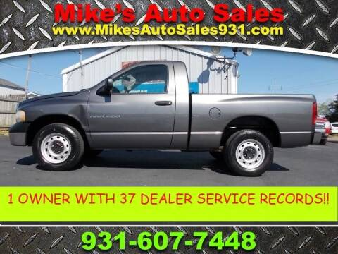 2004 Dodge Ram Pickup 1500 for sale at Mike's Auto Sales in Shelbyville TN
