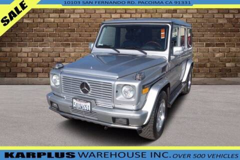 2003 Mercedes-Benz G-Class for sale at Karplus Warehouse in Pacoima CA