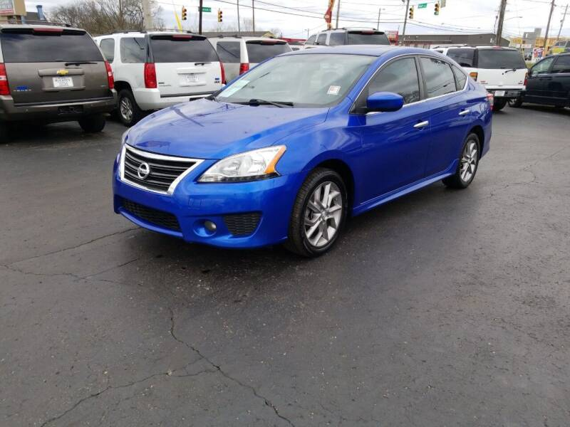 2014 Nissan Sentra for sale at Rucker's Auto Sales Inc. in Nashville TN