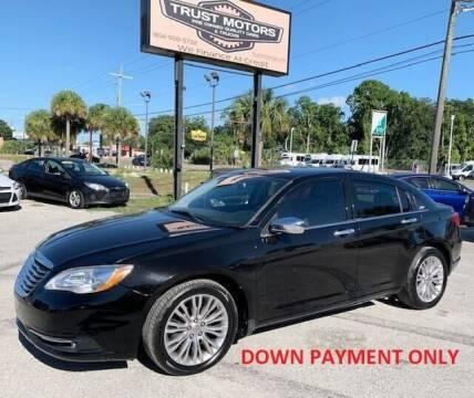 2011 Chrysler 200 for sale at Trust Motors in Jacksonville FL