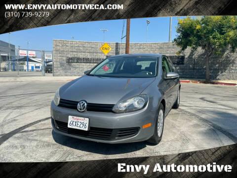 2010 Volkswagen Golf for sale at Envy Automotive in Studio City CA